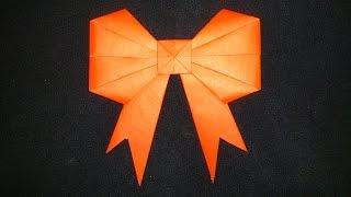 Download Cara Membuat Origami Pita Cantik | Origami Bentuk Video