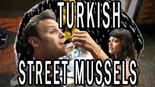 Download Turkish Street Food and High Class Dumplings in Istanbul Video