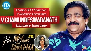 Download Former BCCI Chairman Jr Selection Committee V Chamundeswaranath Interview | HeartToHeartWithSwapna Video