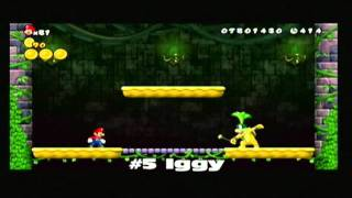 Download New Super Mario Bros. Wii - The Koopalings - Fortress Battles Video