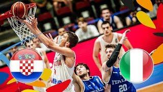 Download LIVE 🔴 - Croatia v Italy - Quarter-Finals - FIBA U20 European Championship 2018 Video