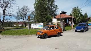 Download Zlot Fiata 126p Łagów 2018. Początek parady Video