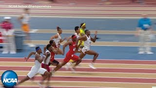 Download Men's 60m dash at 2019 NCAA Indoor Track and Field Championship Video