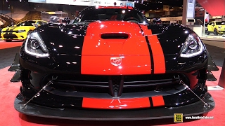 Download 2017 Dodge Viper ACR 1:28 Edition - Exterior and Interior Walkaround - 2017 Chicago Auto Show Video
