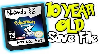 Download Exploring my 10 year old Pokemon Diamond Save file Video