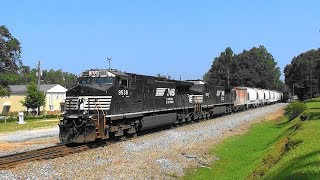 Download NS 177 rolls south in Stockbridge, Ga. Video