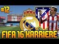 Download FIFA 16 KARRIEREMODUS #12 - 1. gegen 2. vs. ATLETICO MADRID - FIFA 16 KARRIERE REAL MADRID Video
