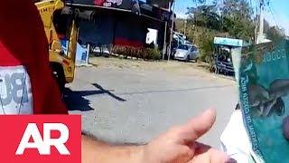 Download Conductor ofrece soborno a Tránsito y es detenido en operativo. Video