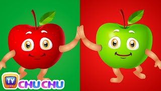 Download Apple Song (SINGLE) | Learn Fruits for Kids | Educational Learning Songs & Nursery Rhymes | ChuChuTV Video
