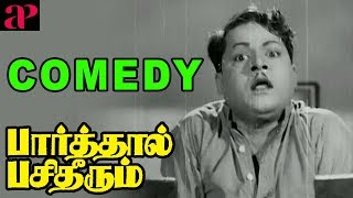 Download Parthaal Pasi Theerum Movie Comedy   Sivaji   Gemini Ganesan   Savithri   Thangavelu   M Saroja Video