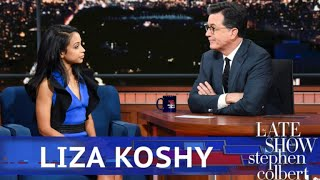 Download Liza Koshy Gets Breakup Advice From Stephen Colbert Video
