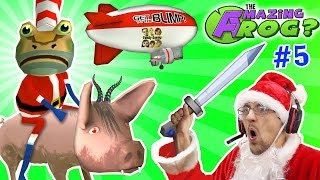 Download AMAZING FROG SANTA rides DEMON PIG! MERRY FARTING CHRISTMAS! Blimp Crashing - 3x Rollover | Part 5 Video