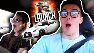 Download MY LITTLE SISTER REACTS TO GTR LAUNCH!! Video