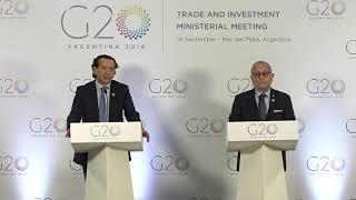Download Conferencia de prensa oficial de la Presidencia Argentina del G20 Video