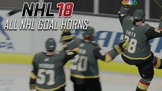 Download NHL 18 - All NHL Goal Horns Video
