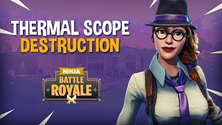 Download Thermal Scope Destruction! - Fortnite Battle Royale Gameplay - Ninja Video