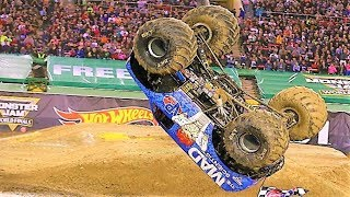 Download Best of Monster Trucks 2018 - Grave Digger, Superman, Maximum Destruction, Batman Video