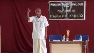 Download Dr B M Hegde in SDM CNYS - Talk on Wellness / Mental Health Video