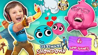 Download LOVE BALLS Challenge! FGTEEV MOBILE GAMES SHOWDOWN! Dad vs Son Gameplay/Skit Video