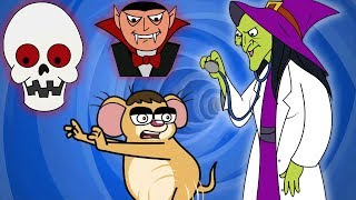 Download Rat-A-Tat  'Doctor Witch + Don & Friends Scary Real Ghosts Comp'  Chotoonz Kids Funny Cartoon Videos Video
