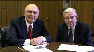 Download Young Single Adult Face to Face with Elder Oaks and Elder Ballard Video