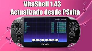 Download VitaShell 1.43 Descarga Desde PSvita Video