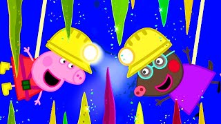 Download Peppa Pig Official Channel | Visiting the Caves with Molly Mole and Peppa Pig! Video