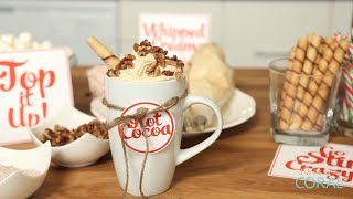 Download The Domestic Geek: Hot Cocoa Bar Video