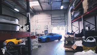 Download GETTING CUSTOM GOLD GTR WHEELS! EXPLORING A WHEEL FACTORY Video