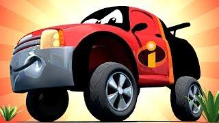 Download Oficina de Pintura do Tom - Especial Os Incríveis - Matt é o Senhor Incrível - Cidade do Carro 🚗 Video