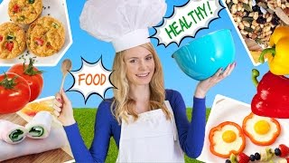 Download How to Cook Healthy Food! 10 Breakfast Ideas, Lunch Ideas & Snacks for School, Work! Video