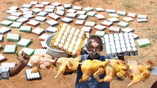 Download 2500 EGGS and 10 KG Chicken cooking in single pot!!!!! Video