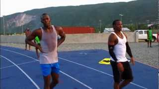 Download Usain Bolt - Glen Mills Training Session Video