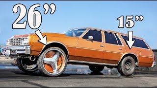 Download Drag Racing on 26 inch RIMS - WTF?! Video