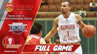 Download Nanhai Kung Fu vs. Singapore Slingers   FULL GAME   2017-2018 ASEAN Basketball League Video