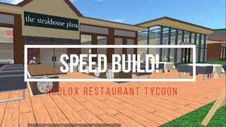 Download Restaurant Tycoon | Speed build Roblox | 2 Video
