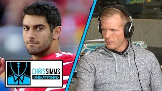 Download Jimmy Garoppolo should get 49ers back in playoff hunt in 2019   Chris Simms Unbuttoned   NBC Sports Video
