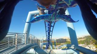 Download Manta Roller Coaster - Sea World - Orlando, Florida Video