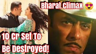 Download Salman Khan's Bharat Climax Will Be Mind blowing l 10 Cr Set To Be Destroyed Video