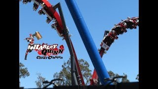 Download Harley Quinn Crazy Coaster Testing Footage 6-10-18 Video