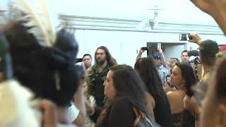 Download WATCH: Jason Momoa gets emotional at Hawaii premiere of Aquaman Video