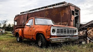 Download ABANDONED Junkyard Truck Getting Roadworthy After 13 Years Video