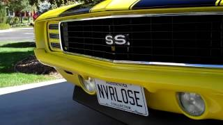 Download 1969 Camaro RS SS 496 big block Video