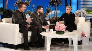 Download Ellen Meets Las Vegas Survivors Jesus Campos and Stephen Schuck Video