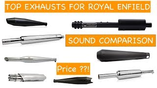Download Best Royal Enfield Silencer With Price | Top 10 Silencers Sound Comparison Video