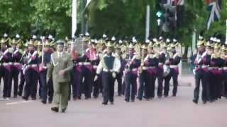 Download Polish Army Band Waterloo 200 Parade London Video