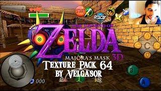 Download Texture Pack Zelda Majora Mask 3D 64 by Velgasor Video