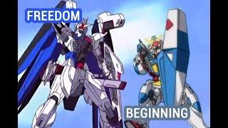 Download Freedom vs Beginning Gundam Video