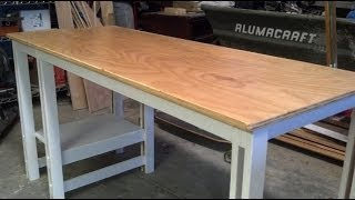 Download Easy Single Sheet Plywood Desk Video