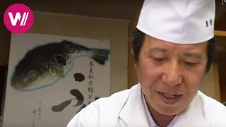 Download Fugu | how to prepare the deadly pufferfish shown by ″Uosei″ chef Rikizo Okamoto | Tokyo Video